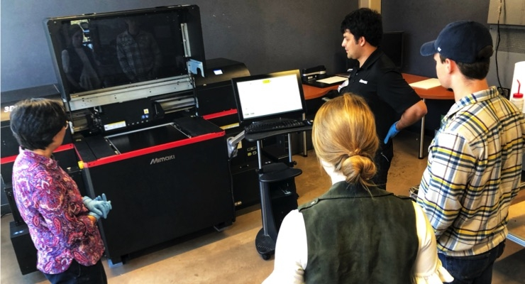 Mimaki USA Places 3D Color Printer at Clemson University's Sonoco Institute