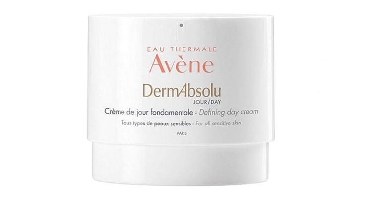 Avene's DermAbsolu moisturizer in Lumson's 40ml airless jar that uses pouch technology.