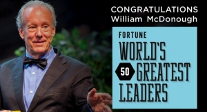 William McDonough Named One of the World