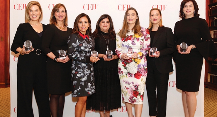 CEW Presents Top Talent Awards