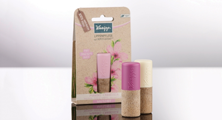 A Kneipp product range uses Sughera for the primary packaging.