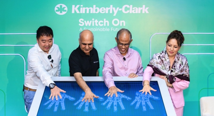 Kimberly-Clark Installs One of Singapore