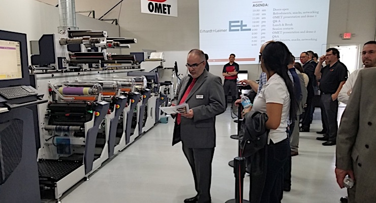 Hybrid printing the focus at Omet open house