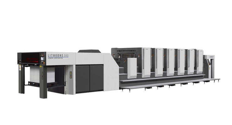 Salem One Adds Third Komori Lithrone G40