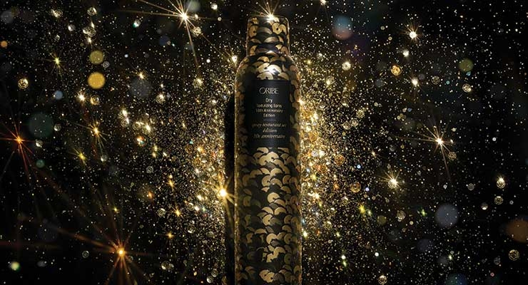 Oribe celebrates its 10th anniversary with special edition packaging.