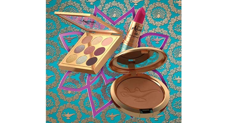 Disney makes magic with MAC Cosmetics for an 'Aladdin'-themed range.