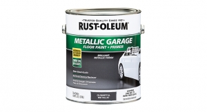 Rust-Oleum Launches Metallic Concrete Floor Paint