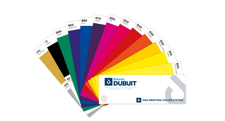 Encres DUBUIT Completes Pad Printing Inks Range with New MG-PAD Series
