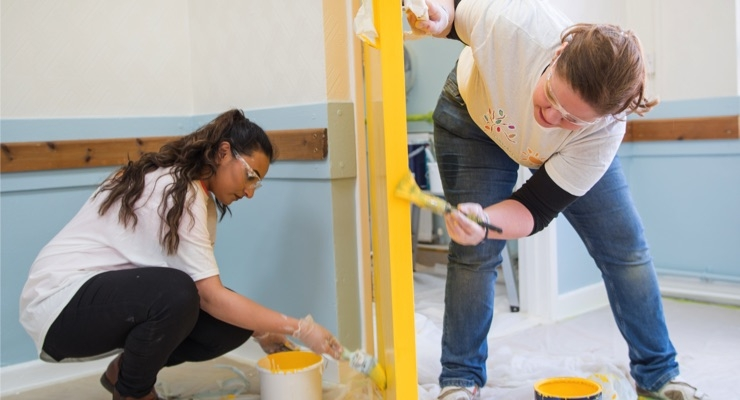 PPG Completes COLORFUL COMMUNITIES Project at Community Centre Trust