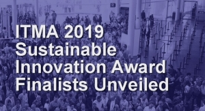 ITMA 2019 Sustainable Innovation Award Finalists Unveiled