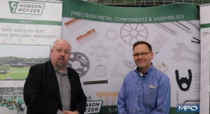 Precision Metal Components with Hobson & Motzer at BIOMEDevice Boston