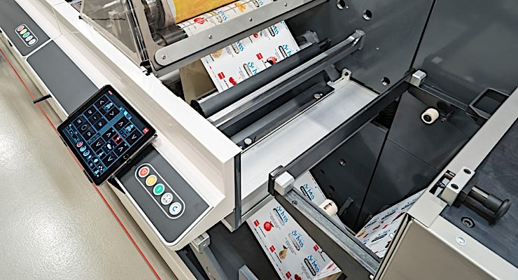 Nilpeter has designed its flexo presses with intuitive features.