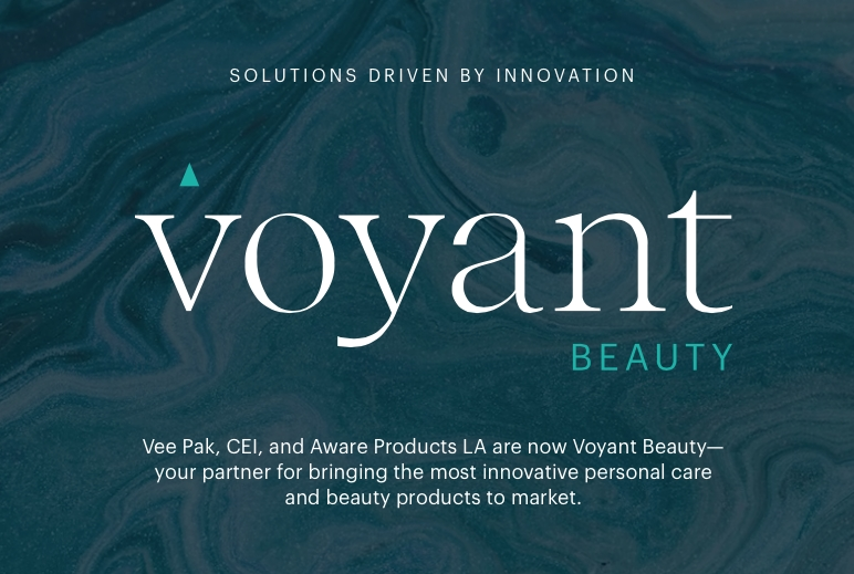 Vee Pak, CEI and Aware Products Are Now Voyant Beauty