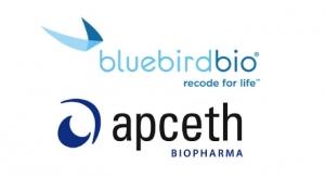 apceth, bluebird bio Enter Mfg. Tie-up