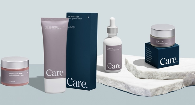 Avec Creates Brand Identity for DTC Skincare Brand Care