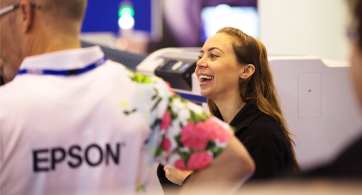 Epson Prepares for New Technology Showcase at The Print Show 2019