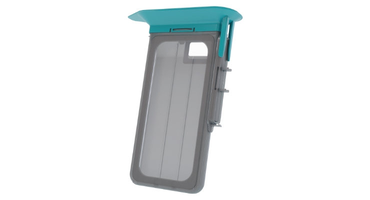 The CleanCase sterile mobile device cover. Image courtesy of SteriDev.
