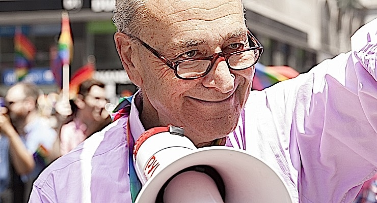 Put down the bullhorn, Chuck. We hear you.