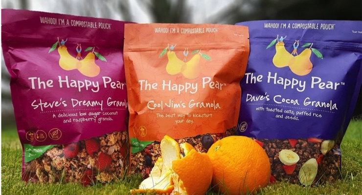 Sustainable packaging produced by Foxpak of Ireland.