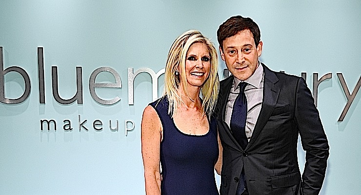Marla and Barry Beck, founders of Bluemercury, attend the Bluemercury 20thAnniversary event in New York City. (Photo: Getty Images for Bluemercury, Inc.)