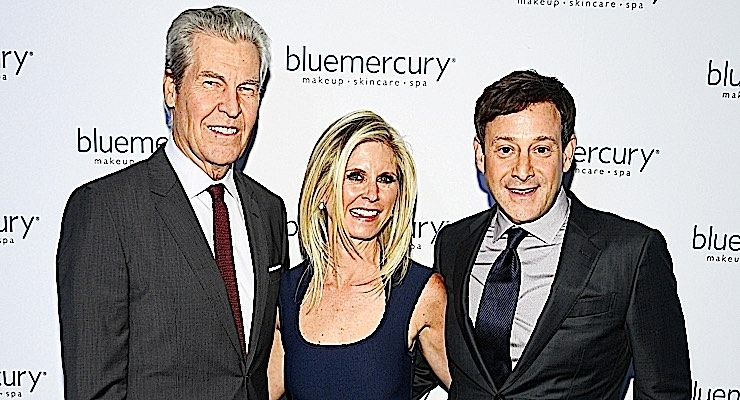 Terry Lundgren, with Marla and Barry Beck at Bluemercury's 20thanniversary celebration, at the Bluemercury Hilton flagship in NYC. (Photo: Getty Images for Bluemercury, Inc.)