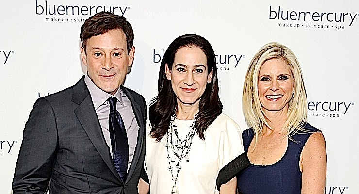 Barry Beck, Jane Lauder, and Marla Beck at Bluemercury's 20thanniversary celebration. (Photo: Getty Images for Bluemercury, Inc.)