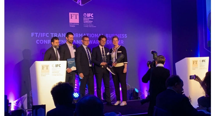 Prosthetics Startup Amparo Wins Innovating for Disability Award
