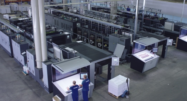 Online print shop Printi is targeting growth of 30% with a complete package of three highly automated Heidelberg Speedmaster XL 106 presses. (Source: Heidelberg)