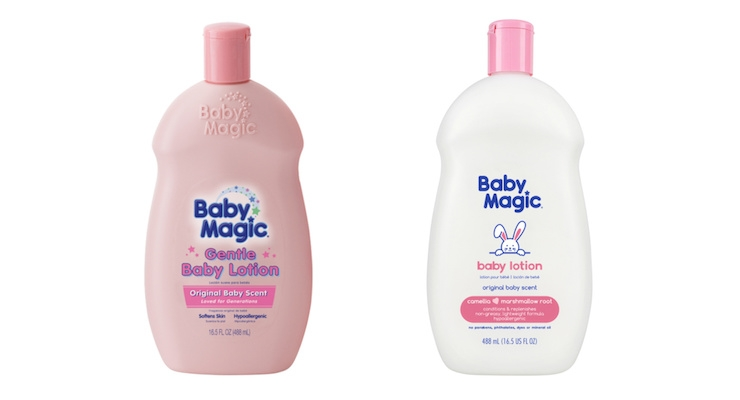 Baby Magic's Packaging & Product Evolution