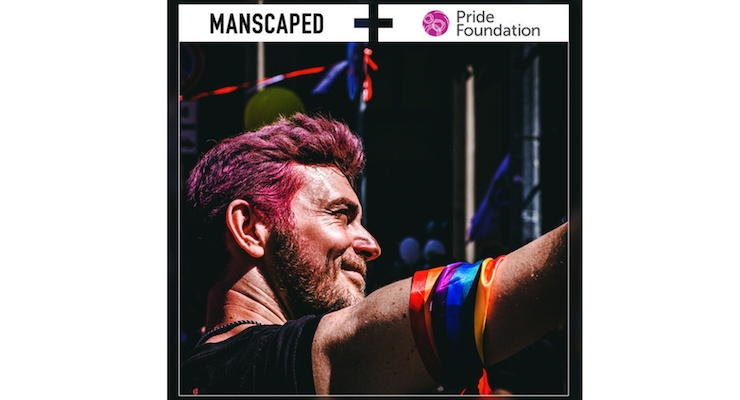 Manscaped Partners with Pride Foundation