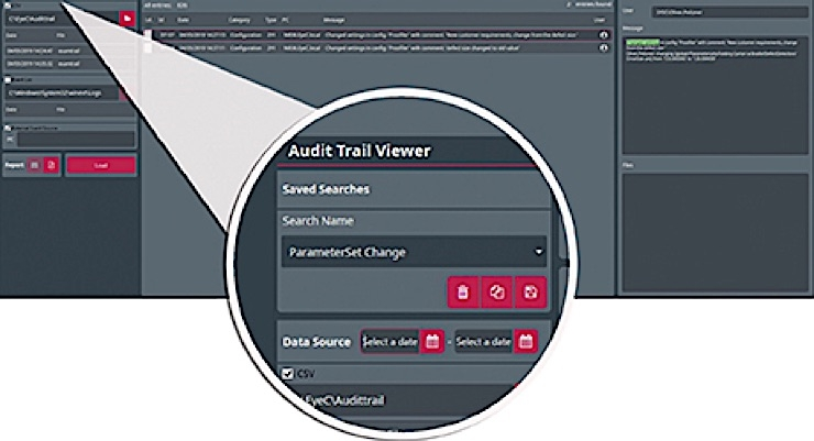 EyeC launches new Audit Trail Viewer