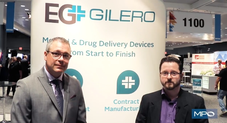Announcing EG-GILERO's New Facility at MD&M East