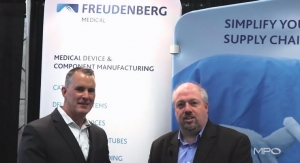 Contract Manufacturing with Freudenberg Medical at MD&M East