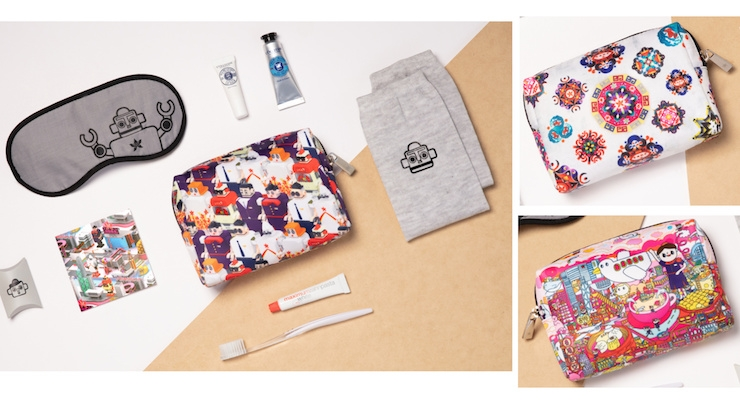 Hong Kong Airlines Recruits Artists To Create Collectible Amenity Kits