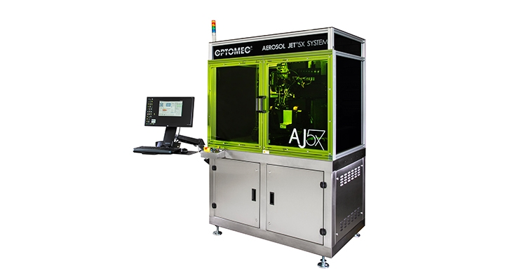 Samsung Electronics Selects Optomec's Aerosol Jet for Next-Generation Electronics Production