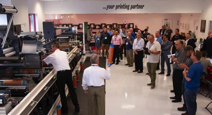 Nilpeter USA and Screen Americas co-sponsor Open House
