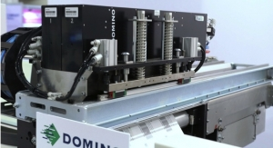 Domino Presenting Dual Bar K600i Digital UV Inkjet Printer at Labelexpo Europe 2019