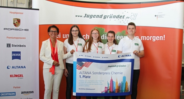 Student Team from Lingen Receives 2019 ALTANA Special Prize in Chemistry