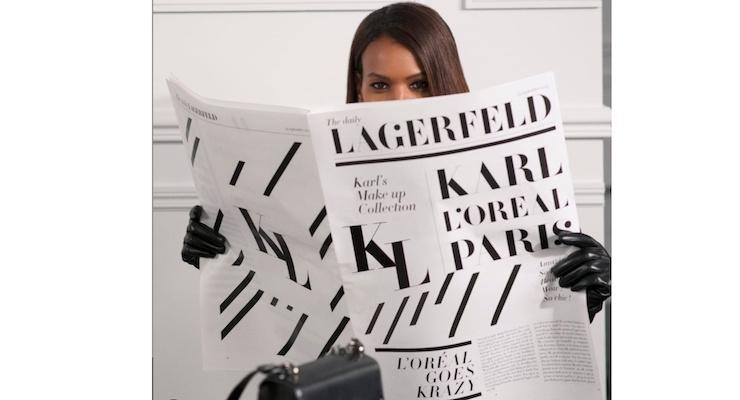 Karl Lagerfeld Created a L'Oréal Paris Makeup Line