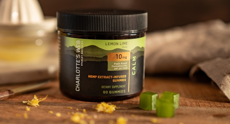 Charlotte's Web Introduces Hemp Extract-Infused Gummies