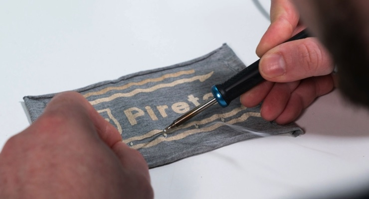Pireta's eTextile Technology Makes Entire Fabric Conductive