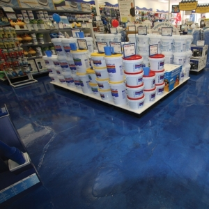 Seal-Krete high performance flooring system has flooring boutique swimming in new business