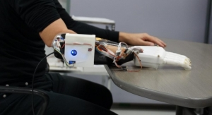 3D Printed Prosthetic Hand Learns Wearer