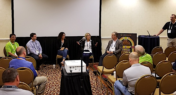EskoWorld panel explores latest trends in flexo