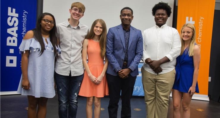 BASF Awards $16,000 in Scholarships to Louisiana High School Students