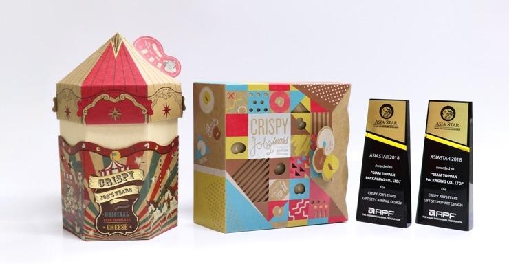 AsiaStar Award-winning designs. (Source: Toppan Printing)
