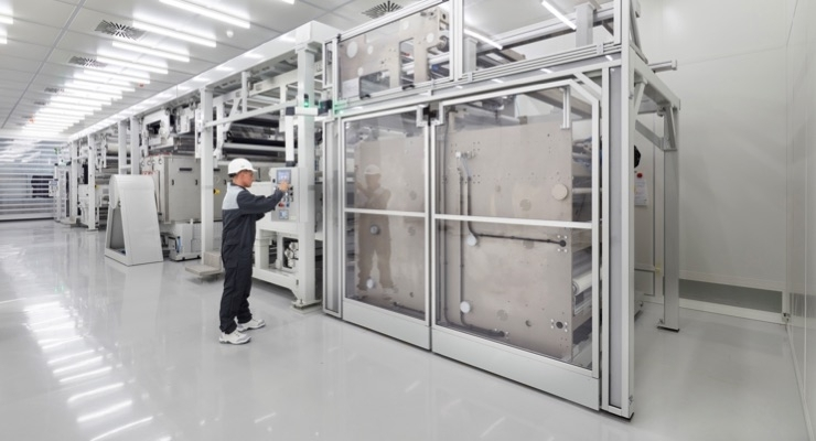 BASF Starts Up Plant for Functionalizing Foils at Münster Site