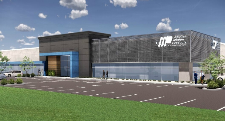 The new headquarters will consolidate all U.S. operations. Image courtesy of Applied Motion.