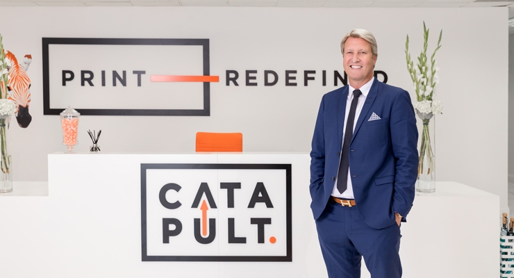 Mark Cook has taken calculated risks to help put Catapult on the map.