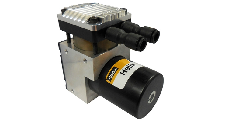 Parker's Helix pump is a compact, high pressure pump. Image courtesy of Parker.